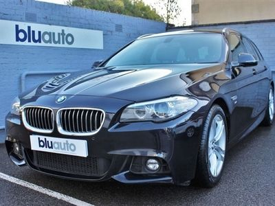 used BMW 520 5 SERIES 2.0 D M SPORT 4d 188 BHP Satellite Navigation, FSH,