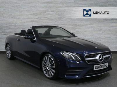 used Mercedes E220 E ClassAMG Line Premium 2dr 9G-Tronic Cabriolet diesel cabriolet