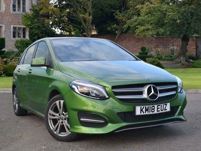 used Mercedes B180 B Class DieselExclusive Edition 5dr Auto Hatchback 2018