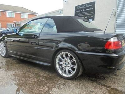 used BMW 325 3-Series Convertible Ci M Sport 2d Auto
