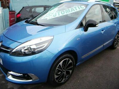 used Renault Grand Scénic 1.5 dCi Dynamique TomTom 5dr AUTOMATIC 7 SEATS low miles