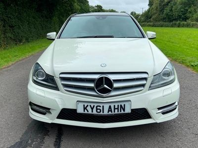 used Mercedes C350 C-Class SaloonCDI BlueEFFICIENCY Sport Ed 125 4d Auto