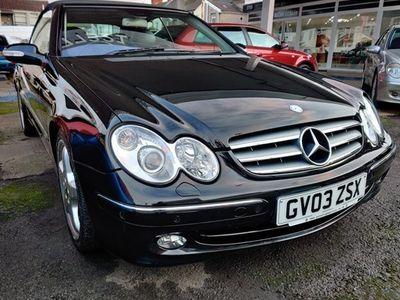 used Mercedes 320 CLK CabrioletElegance 2d Tip Auto