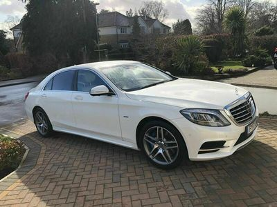 used Mercedes S500L S Class 3.0h AMG Line (Executive) 7G-Tronic Plus (s/s) 4dr