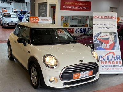 used Mini One D Hatch £0 TAX // 1.5HATCHBACK 3DR S/S 95 BHP