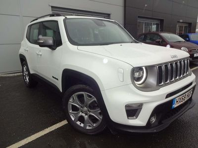 used Jeep Renegade 1.0 T3 GSE Limited 5dr