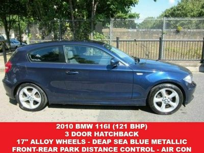 used BMW 116 1 Series 2.0 i (121 BHP) SPORT 3DR HATCHBACK..EXTENDABLE SPORT SEATS..F-R PARK D