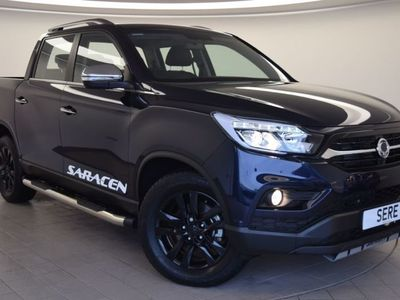 used Ssangyong Musso 1.6i Active Plus 5dr