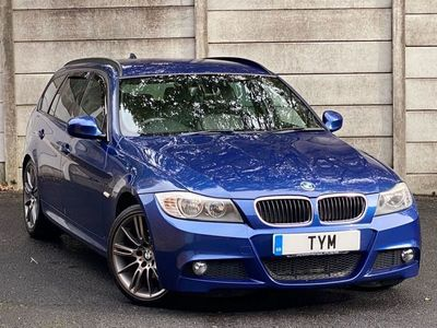 used BMW 318 3 SERIES 2.0 D SPORT PLUS EDITION TOURING 5d 141 BHP HUGE SPEC+LE MANS BLUE