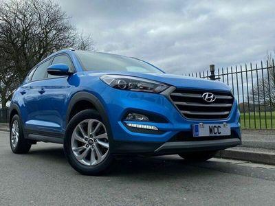used Hyundai Tucson 1.6 GDI SE NAV BLUE DRIVE 5d 130 BHP REAR CAM, HEATED SEATS