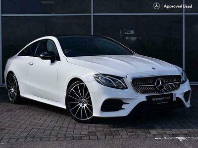 used Mercedes E220 E-Class 2.0dAMG Line (Premium)(s/s) Coupe 2d