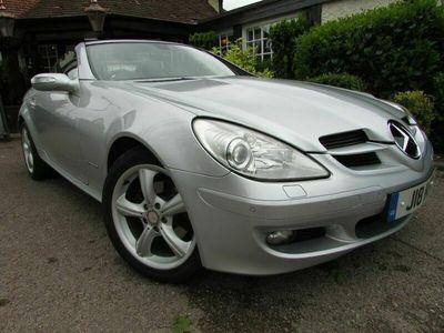 used Mercedes SLK200 2dr Tip Auto