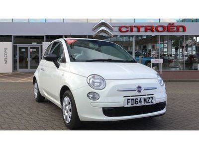 used Fiat 500 2014 Leicester 1.2 Pop 3dr [Start Stop] Petrol Hatchback