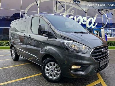 used Ford Custom Transit2.0 EcoBlue 185ps Low Roof D/Cab Limited Van Auto