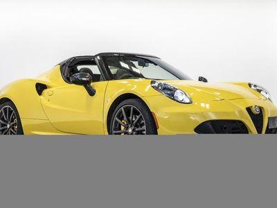 used Alfa Romeo 4C TBI 50TH AN-SARY SPIDE