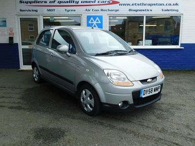 used Chevrolet Matiz PETROL MANUAL HATCHBACK 5 DOORS