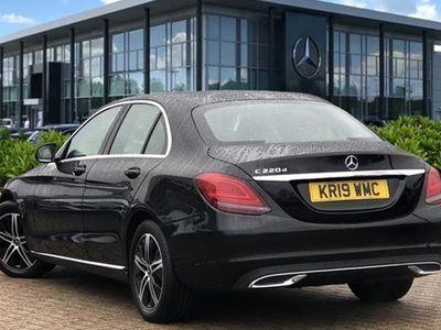 used Mercedes C220 C-Class Saloond Sport Premium 9G-Tronic Plus auto (06/2018 on) 4d