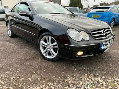 used Mercedes CLK200 Avantgarde 2dr [184] Tip Auto