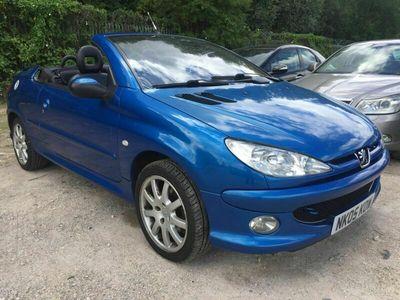 used Peugeot 206 CC 2.0 16v SE 2dr