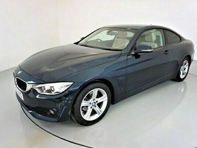 used BMW 418 4 SERIES 2.0SE 2d 148 BHP-2 OWNER CAR-PROFESSIONAL SATNAV-BEIGE DAK