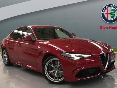 used Alfa Romeo Giulia 2.9 V6 BiTurbo Quadrifoglio 4dr Auto