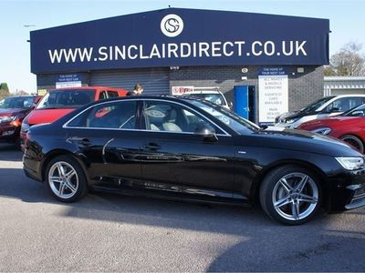 used Audi A4 2.0 TDI ULTRA S LINE 4dr