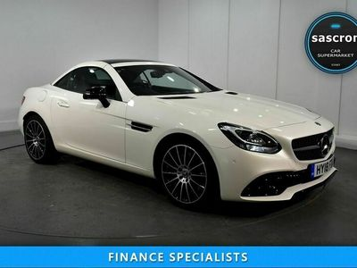 used Mercedes SLC200 SLCAMG Line Convertible 2.0 Automatic Petrol 2dr