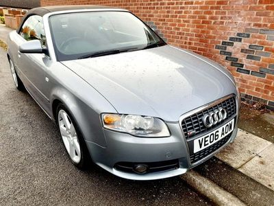 used Audi A4 Cabriolet Cabriolet 2.0 TDI S line 2dr