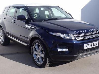 used Land Rover Range Rover evoque 2.2 SD4 Prestige 5dr Auto Blue Automatic Diesel
