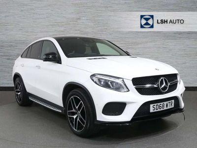 used Mercedes GLE350 GLE Coupe4Matic Amg Night Ed Prem + 5Dr 9G-Tronic