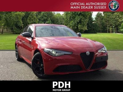 used Alfa Romeo Giulia 2.0T Nero Edizione Auto (s/s) 4dr