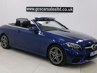 used Mercedes C200 C Class 1.5EQ Boost AMG Line Cabriolet G-Tronic+ (s/s) 2dr