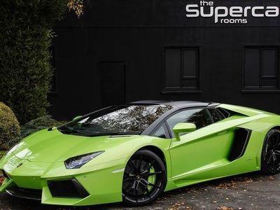 used Lamborghini Aventador 1 LP 700-4 ROADSTER - HUGE SPEC - INTERIOR & EXTERIOR CARBON PACKS