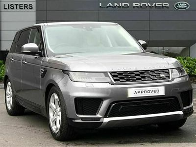 used Land Rover Range Rover Sport 2.0 P400e HSE 5dr Auto