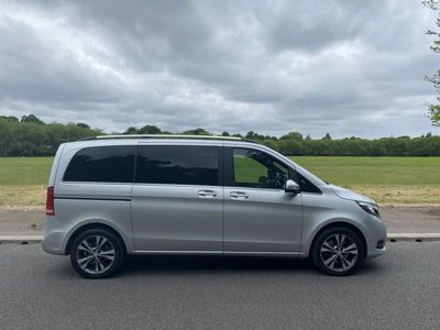 used Mercedes V250 V-Class 2.1BLUETEC SPORT 5d AUTO 188 BHP LOW MILES, AUTOMATIC, FULL LEATHER