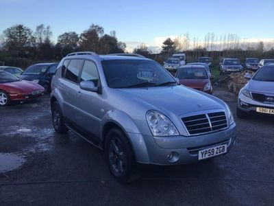used Ssangyong Rexton 270 SPR 5dr Tip AUTO *LOW MILES - SATNAV-TV's-BLUETOOTH-LEATHER-NEW WHEELS*