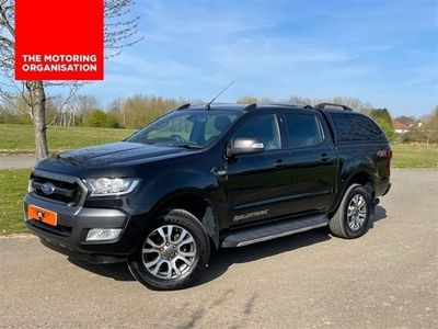 used Ford Ranger 3.2TDCI WILDTRAK 4X4 197 BHP 4DR DOUBLE CAB PICK UP