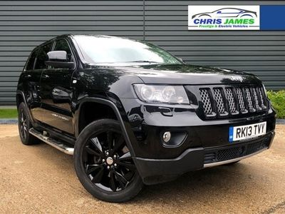 used Jeep Grand Cherokee 3.0 V6 CRD SUMMIT-LIMITED 5d 237 BHP REV CAM, NAV, Half Leather Suede