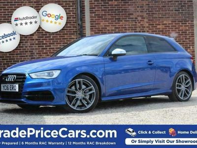 used Audi S3 S3 2.0QUATTRO NAV 3d 296 BHP FREE DELIVERY WITHIN hatchback
