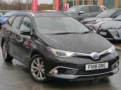 used Toyota Auris Touring Sport 1.8 Hybrid Excel TSS 5dr CVT [Leather]