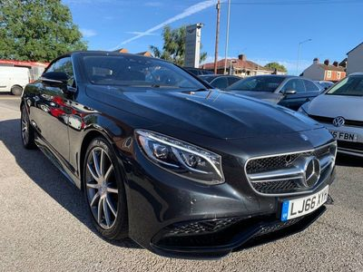 used Mercedes S63 AMG S Class 5.5V8 AMG S Cabriolet SpdS MCT (s/s) 2dr