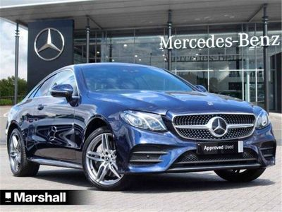used Mercedes E50 AMG E Class4Matic AMG Line 2dr 9G-Tronic Coupe 2019