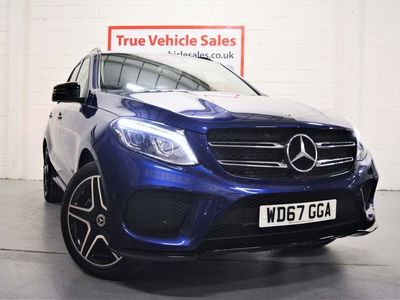 used Mercedes GLE250 Gle Class 2.1AMG Line G-Tronic 4MATIC (s/s) 5dr