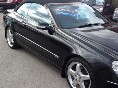 used Mercedes 320 CLK CabrioletAvantgarde 2d Tip Auto