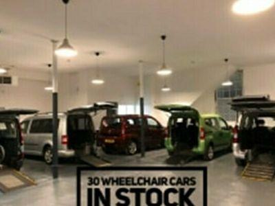 used Fiat Doblò 1.4 POP 5DR WHEELCHAIR CAR MPV 2017