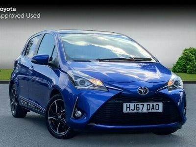 used Toyota Yaris 1.5 VVT-i Design 5-Dr Pan Roof