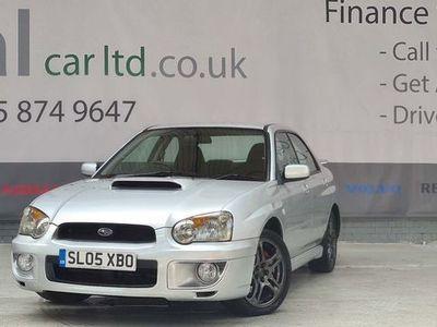 used Subaru Impreza 2.0 WRX 4dr