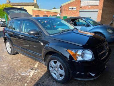 used Dodge Caliber 2006 2.0 SXT 5dr CVT Auto BLACK FULL LEATHER