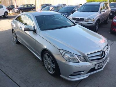 used Mercedes E250 E-ClassCDI BlueEFFICIENCY Sport 2dr Tip Auto