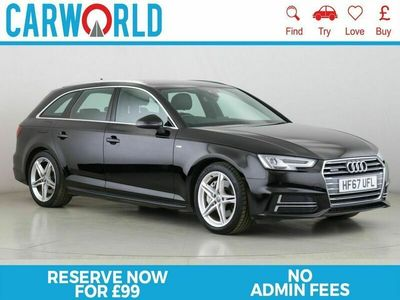 used Audi A4 2.0 AVANT TFSI QUATTRO S LINE 5d 249 BHP